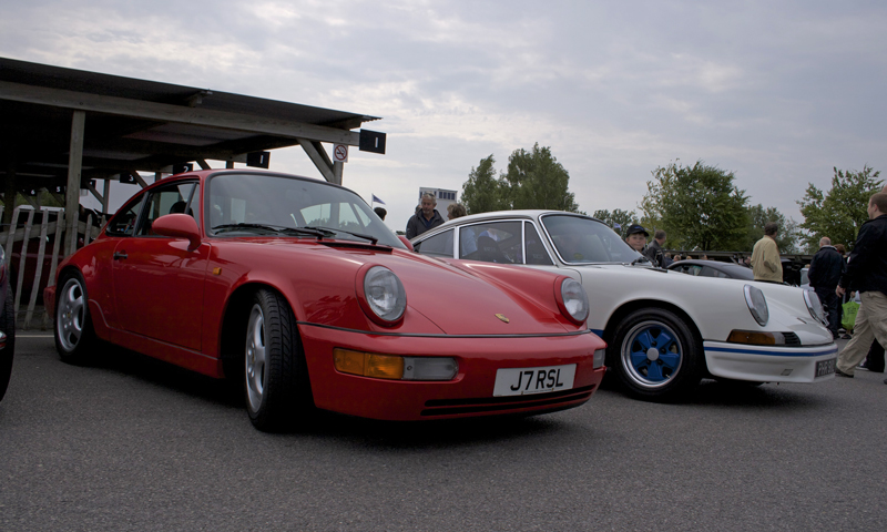 Porsche 911 964RS and 2.7RS