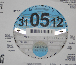 New Tax Disk
