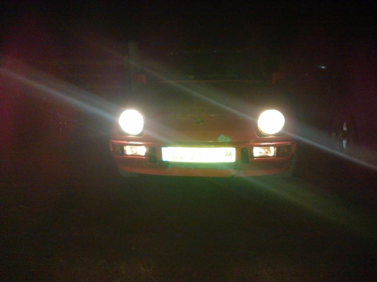 Porsche 924S Night