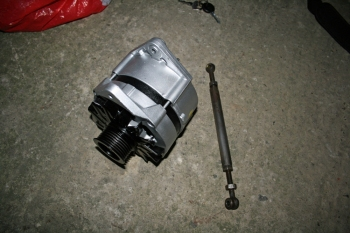 Refurbed Alternator from Porsche 924S