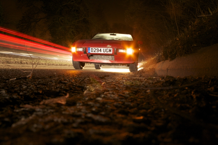 Porsche 924S Night Shot 1