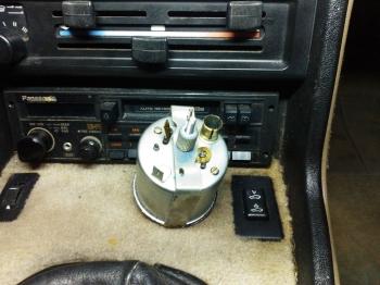 Porsche 924S Clock