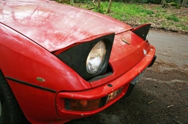 Porsche 924S Lights