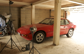 GT Porsche photo shoot
