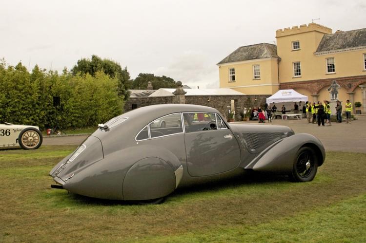 Pentillie Festival of Speed Castle