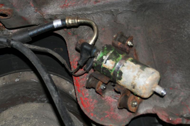 porsche 924 s fuel pump