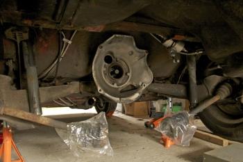 Porsche 924 S Rear Underside