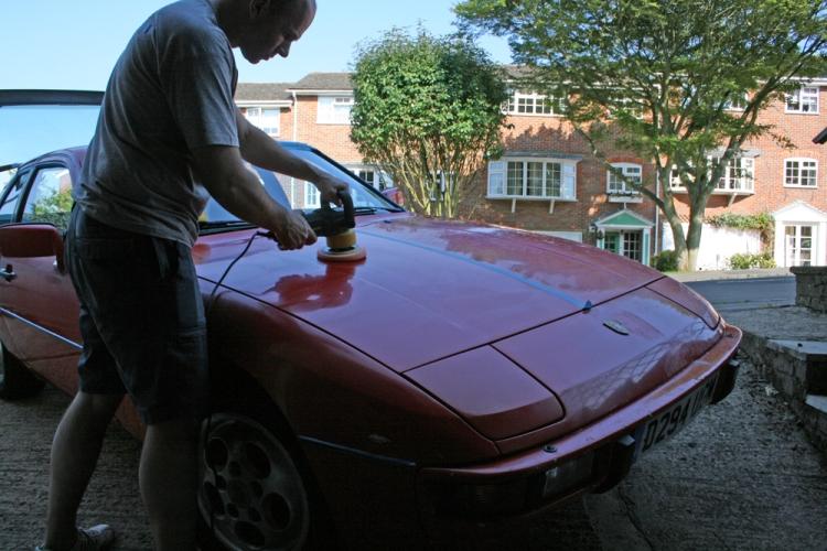 Porsche 924 S Paint DA