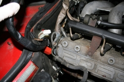 Porsche 924 S DME Cable Removal