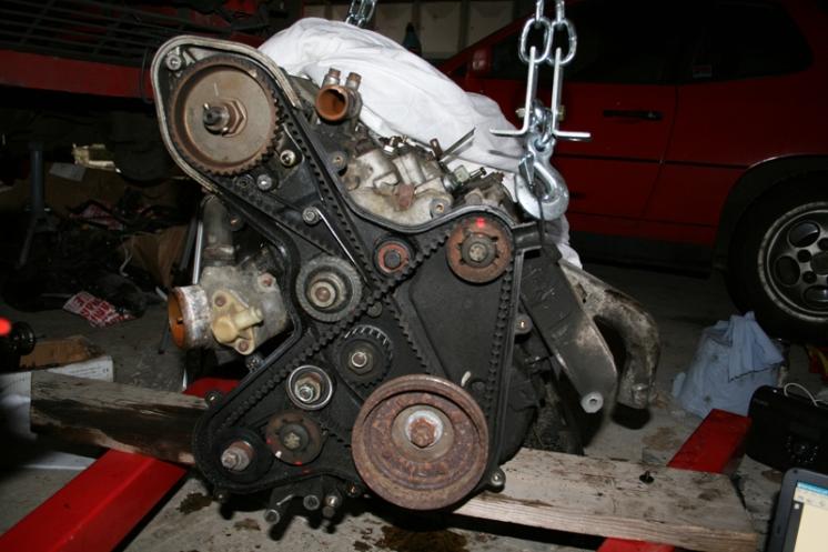 Porsche 924 S Engine Belts