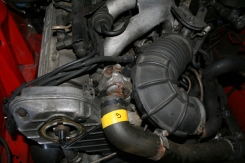 Porsche 924 S Engine Front Water Hose