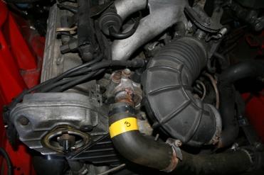 Porsche 924 S Engine Front Water Hose