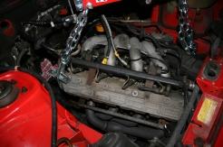 Porsche 924 S 2.5l Engine Lowering