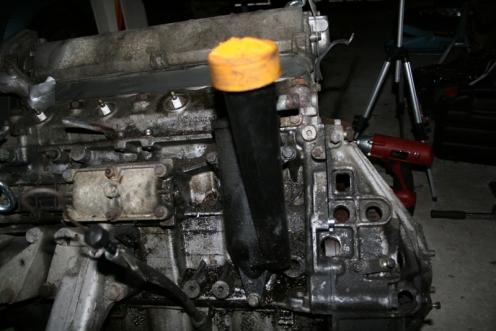 Porsche 924 S Engine Near Side