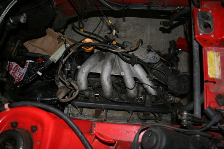 Porsche 924 S 2.5l Engine