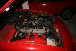Porsche 924 S Engine Side View