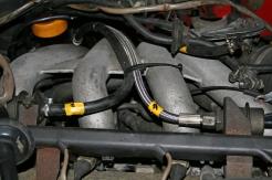 Porsche 924 S 2.5l Engine Fuel Hoses