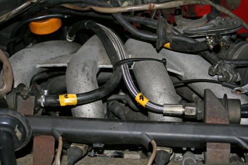 Porsche 924 S 2.5l Engine Fuel Hoses
