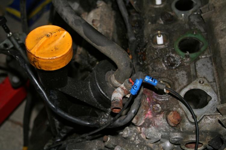 Porsche 924 S Engine Head