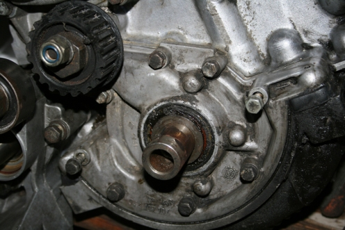 Porsche 924 S Oil Pump and Crank Shaft