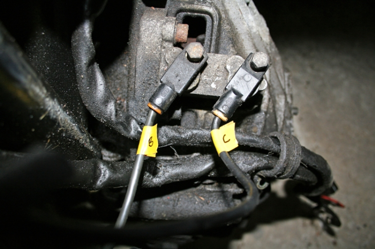 Porsche 924 S Speed and Reference Sensors