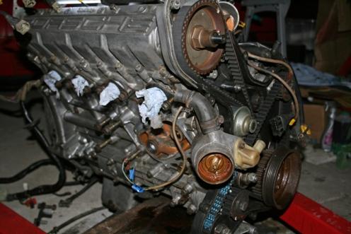 Porsche 924 S Engine Front
