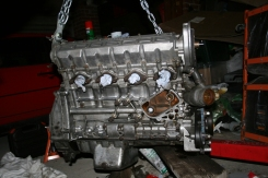 Porsche 924 S Engine Side