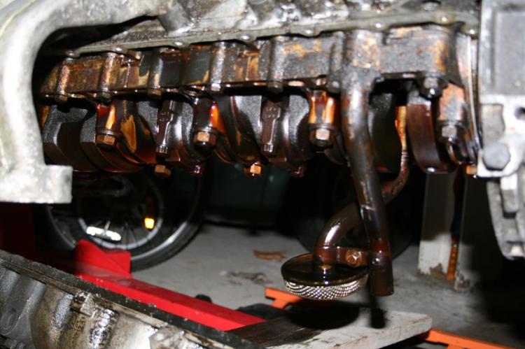 Porsche 924 S Oil Pickup