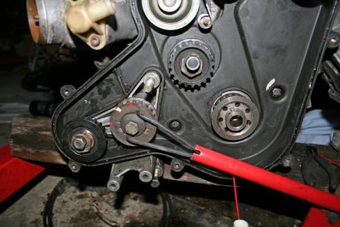Porsche 924 S Roller Brace