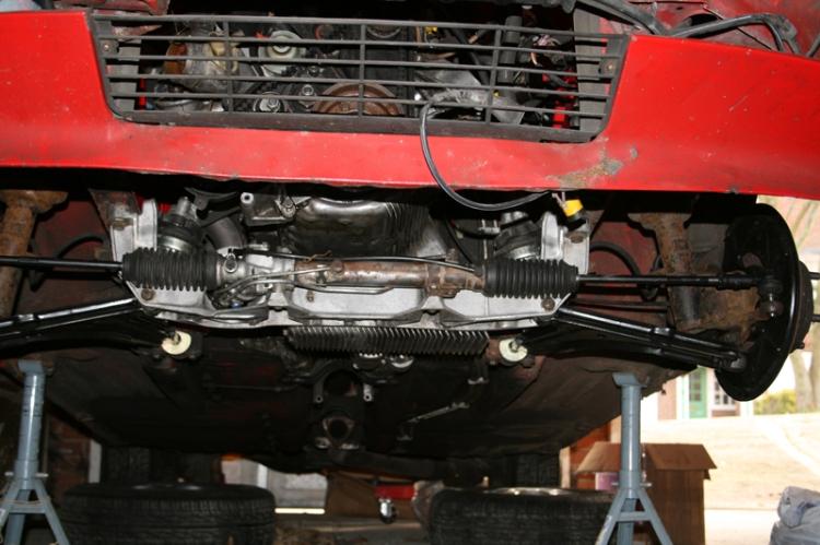 Porsche-924-S-Steering-Rack