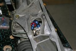 Porsche 924 Steering Rack Connector InSitu
