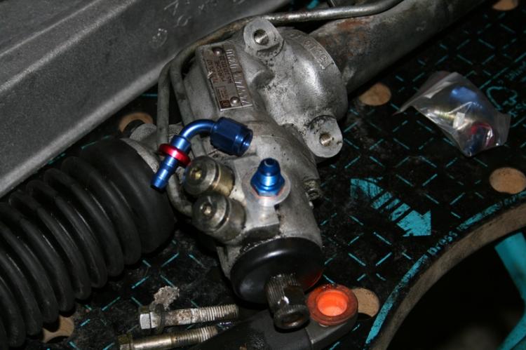 Porsche 924 Steering Rack Connector